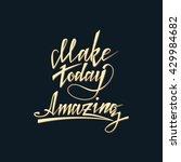 hand lettering typography... | Shutterstock .eps vector #429984682