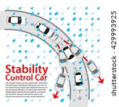 stability control car. how to... | Shutterstock .eps vector #429993925