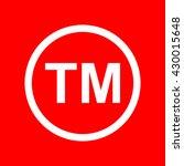 trade mark sign | Shutterstock .eps vector #430015648