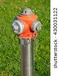 red fire emergency hydrant in... | Shutterstock . vector #430031122
