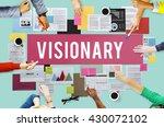 visionary aspirations... | Shutterstock . vector #430072102