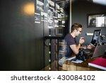 photographer photograph photo... | Shutterstock . vector #430084102