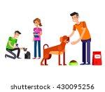 vector detailed character... | Shutterstock .eps vector #430095256