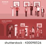 funny character people in... | Shutterstock .eps vector #430098526