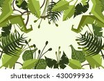 jungle. forest. decorative. | Shutterstock .eps vector #430099936