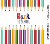 background image for students... | Shutterstock .eps vector #430120588