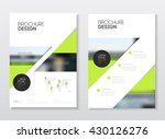 catalogue cover design. annual... | Shutterstock .eps vector #430126276