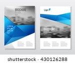 business catalog cover... | Shutterstock .eps vector #430126288