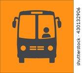 bus icon. schoolbus simbol. | Shutterstock .eps vector #430132906
