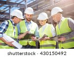 modern building and business | Shutterstock . vector #430150492