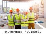construction worksers. best team   Shutterstock . vector #430150582