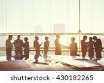 corporate business... | Shutterstock . vector #430182265
