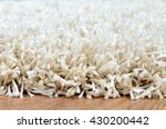 close up detail of white shaggy ... | Shutterstock . vector #430200442