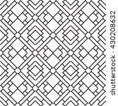 seamless pattern with... | Shutterstock .eps vector #430208632
