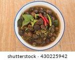 thai puff ball mushroom soup... | Shutterstock . vector #430225942