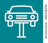 car lifter   Shutterstock .eps vector #430228396