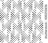 vector seamless dot pattern.... | Shutterstock .eps vector #430253656