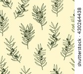 vector seamless pattern with... | Shutterstock .eps vector #430264438