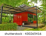 The Container Cabin In The...