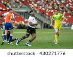 singapore april 17 fiji 7s team ... | Shutterstock . vector #430271776