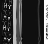 vertical seamless  pattern of... | Shutterstock .eps vector #430273078