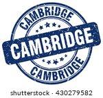 cambridge. stamp   Shutterstock .eps vector #430279582