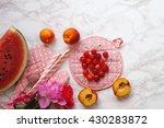 different summer fruits | Shutterstock . vector #430283872