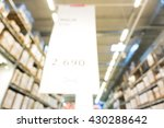box blurred image of shopping... | Shutterstock . vector #430288642