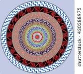 mandala decoration   design... | Shutterstock .eps vector #430288975