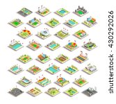 sport facility building set.... | Shutterstock . vector #430292026