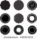 vector vintage stamps...   Shutterstock .eps vector #430321012