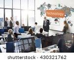 technology digital evolution... | Shutterstock . vector #430321762