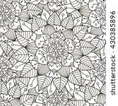 floral ornament seamless...   Shutterstock .eps vector #430385896