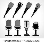 music microphone set   flat web ...