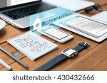 business  internet and... | Shutterstock . vector #430432666
