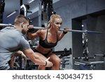 sport  fitness  teamwork ... | Shutterstock . vector #430434715