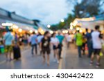 blurred abstract people... | Shutterstock . vector #430442422