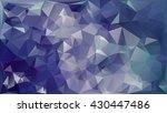 geometric polygonal mosaic... | Shutterstock .eps vector #430447486