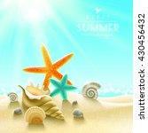 summer | Shutterstock . vector #430456432