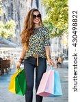 getting unique trends of... | Shutterstock . vector #430498822