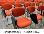 salon conference chairs with... | Shutterstock . vector #430557562