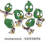 vector cartoon illustration of... | Shutterstock .eps vector #430558096