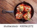 stuffed pepper   Shutterstock . vector #430561372