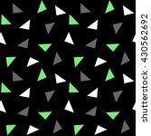 white green gray triangles... | Shutterstock .eps vector #430562692