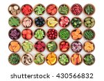 paleolithic super health food... | Shutterstock . vector #430566832