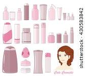 vector icon set. 26 cute...   Shutterstock .eps vector #430583842