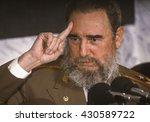 Cuba   February 1989  Fidel...