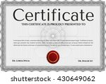 black diploma. with background. ... | Shutterstock .eps vector #430649062