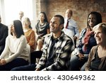 corporate seminar conference... | Shutterstock . vector #430649362