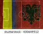 Small photo of Soccer Euro 2016 ( Football ) Albanian and Romania,Albanian and Romania,Albanian ,Romania.